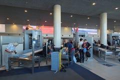 Ochrona przy lotniskiem Obrazy Royalty Free