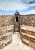 Ochrona punkt przy Kolonialnym fortecą obraz royalty free