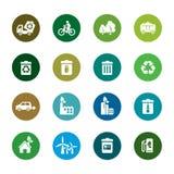 Ochrona Środowiska koloru ikony Fotografia Royalty Free