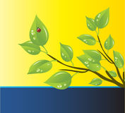 ochrona środowiska szablonu wektor Obrazy Stock