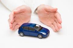 Ochrona samochód zdjęcie stock