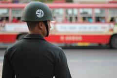 Ochrona Tajlandia Zdjęcia Royalty Free