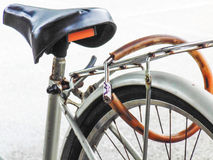 Ochrona twój rower Zdjęcia Royalty Free