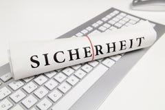 Ochrona w niemiec obrazy royalty free