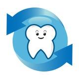 ochrona ząb ilustracja wektor