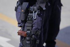 Ochrona zestaw funkcjonariusz policji fotografia stock