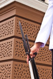 Ochroniarza mienia broń obraz stock