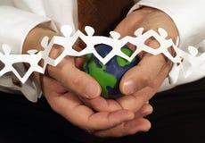 ochronie globalnego ekologicznej obrazy stock