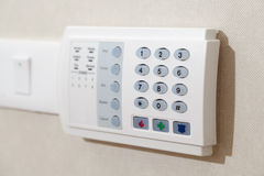 Ochrony alarmowa klawiatura Zdjęcie Royalty Free