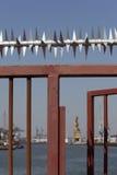 Ochrony brama Obrazy Royalty Free