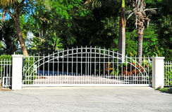 Ochrony brama Zdjęcia Stock