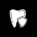 Ochrony bryły ikona Zdjęcia Stock