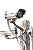 Ochrony CCTV kamera Obrazy Royalty Free