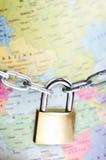 Ochrony globalny pojęcie obraz stock