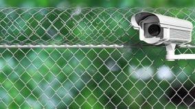 Ochrony inwigilaci kamera royalty ilustracja