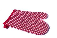 Ochrony kuchenna rękawiczka Obraz Royalty Free