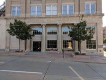 Ochrony National Bank budynku wejście Fotografia Stock