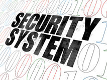 Ochrony pojęcie: System Bezpieczeństwa na Digital Zdjęcie Royalty Free