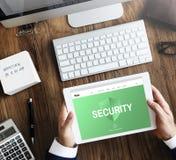 Ochrony prywatności strony internetowej pojęcie Zdjęcie Royalty Free