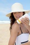 ochrony słońce Fotografia Royalty Free