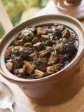 Ochsenschwanz-Eintopfgericht Stockfotos