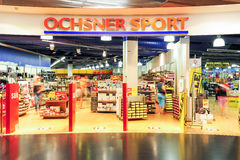 Ochsner sport store Royalty Free Stock Images