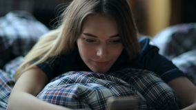 Ochtend in bed stock video
