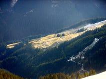 Ochtend in bergen Stock Fotografie