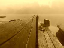 Ochtend bij de rivier Stock Afbeelding