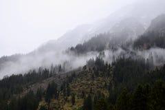 Ochtend in de Alpen, Duitsland Royalty-vrije Stock Afbeeldingen