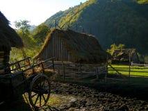 Ochtend in de dorps verse lucht Stock Afbeelding