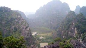 Ochtend de Noord- van Vietnam Stock Afbeelding