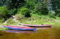 Ochtend in de rivier Royalty-vrije Stock Afbeelding