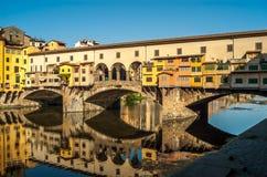 Ochtend in Florence stock foto