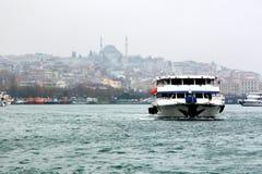 Ochtend in Istanboel Stock Fotografie