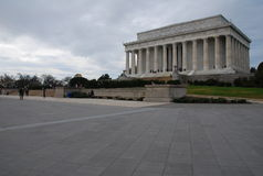 Ochtend Lincoln Memorial Royalty-vrije Stock Afbeelding