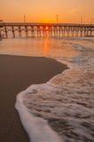 Ochtend in Myrtle Beach South Carolina Royalty-vrije Stock Afbeelding