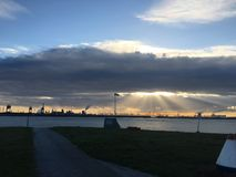 Ochtend Rotterdam Stock Afbeelding