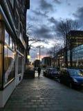 Ochtend Rotterdam Stock Afbeeldingen
