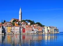 Ochtend in Rovinj, Kroatië Stock Foto's