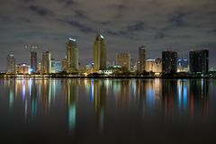 Ochtend in San Diego Royalty-vrije Stock Foto's