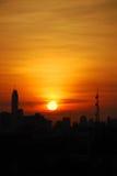 Ochtend Sunreise Royalty-vrije Stock Foto