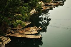 Ochtend van Li-rivier Royalty-vrije Stock Fotografie