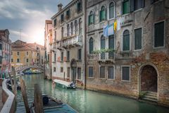 Ochtend in Venetië stock fotografie
