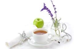 Ochtend zwarte thee Royalty-vrije Stock Foto