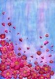 Ochtendbloemen stock illustratie