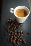Ochtendespresso Royalty-vrije Stock Afbeelding