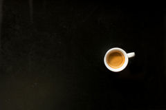 Ochtendespresso Stock Foto's