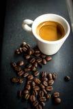 Ochtendespresso Royalty-vrije Stock Afbeeldingen