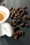 Ochtendespresso Royalty-vrije Stock Foto